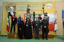 تیم تیراندازی تهران قهرمان رقابت های کشور شد
