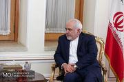 محمد جواد ظریف وارد بغداد شد