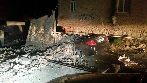 کشتههای زلزله کرمانشاه به ۳۲۸ نفر رسید