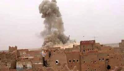 جنگنده های سعودی مناطق مسکونی و مساجد را بمباران کردند