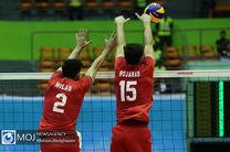ترکیب تیم ملی والیبال ایران مقابل آمریکا مشخص شد