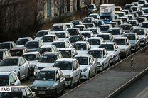 ترافیک سنگین در۶ معبر بزرگراهی