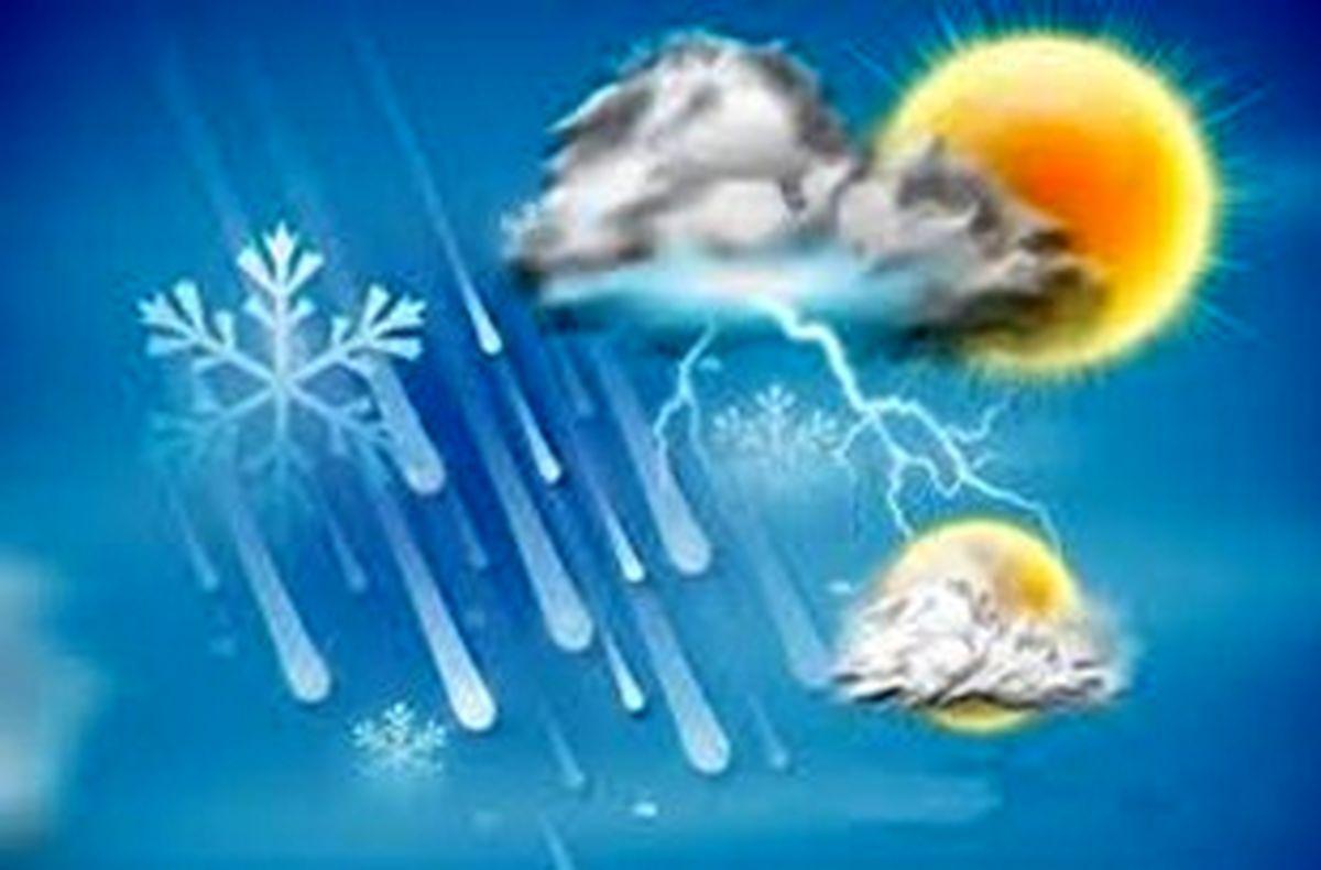 وقوع رگبار و رعد برق همراه با وزش باد شدید در ۲۴ استان کشور طی امروز و فردا