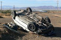 3 کشته و 4 مصدوم براثر واژگونی سواری پژو 405