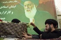 پایان مراسم تشییع پیکر آیتالله هاشمی شاهرودی در تهران