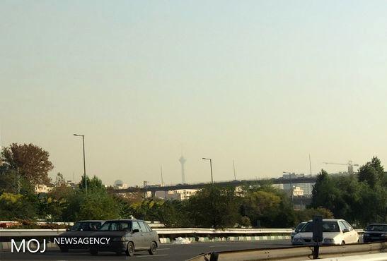 کیفیت هوای تهران در 28 آبان ناسالم است