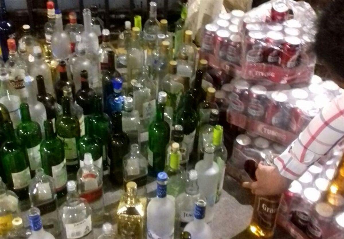 بزرگترین شبکه مشروبات الکلی دستساز در قشم منهدم شد