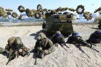 مانور نظامی آمریکا و کره جنوبی آغاز شد
