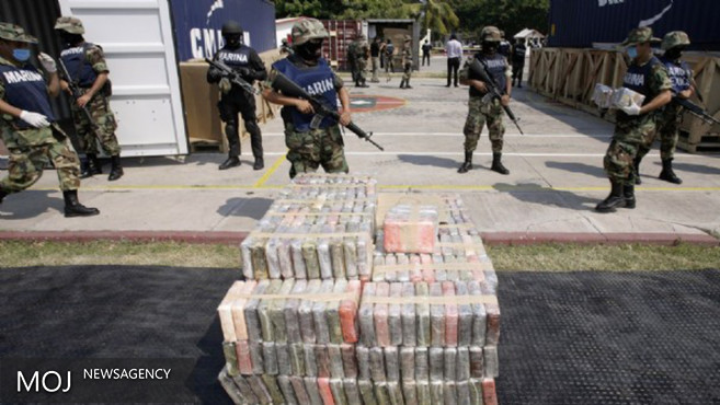 توقیف ۸۰۰ کیلو کوکائین در مکزیک