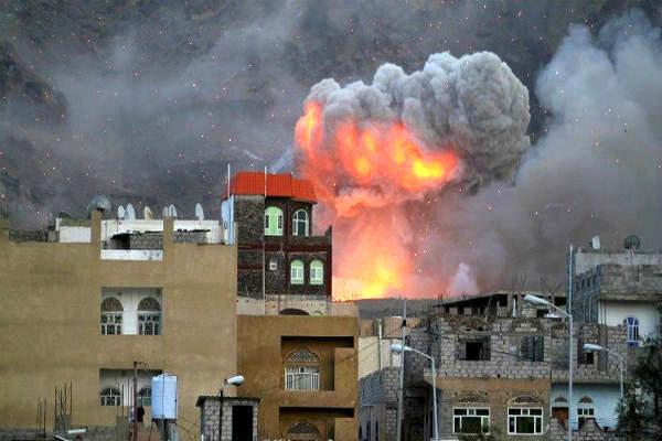 وقوع انفجار شدید در شهر عدن یمن