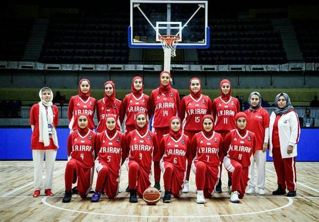 تیم بسکتبال دختران زیر ۱۶ سال ایران چهارم شد