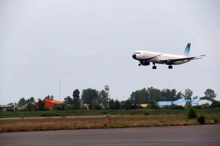 چهارده پرواز ورودی و خروجی فرودگاه سردار جنگل رشت اعلام شد
