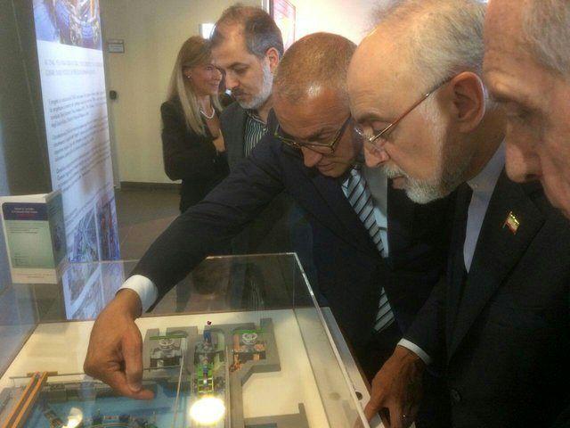 رئیس سازمان انرژی اتمی از  بزرگترین مراکز هسته ای ایتالیا دیدار کرد