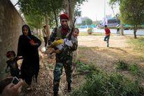 تلاش نیروهای مسلح برای امدادرسانی به مردم بی پناه در حمله تروریستی اهواز + تصاویر