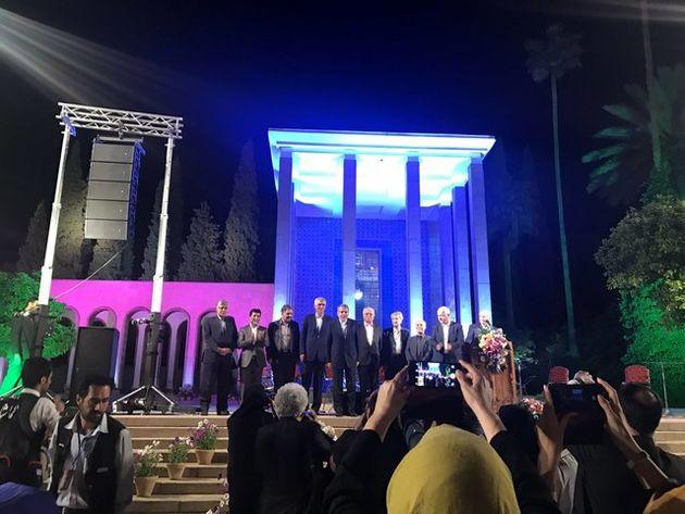 شب شیراز با سعدی روشن شد