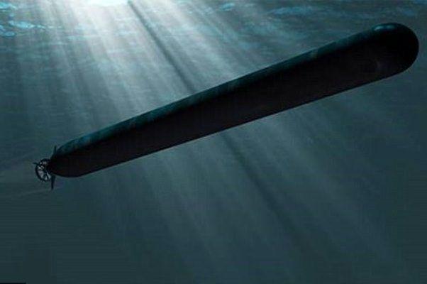 آمریکا زیردریایی بی سرنشین ساخت