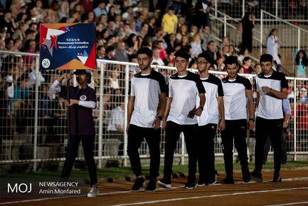 افتتاحیه بازی های المپیک ارامنه ایران