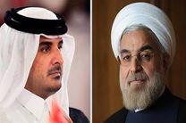 تبریک امیر قطر به روحانی کشورهای حاشیه خلیج فارس را تحریک میکند