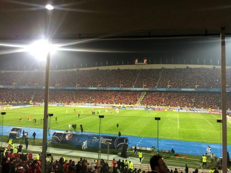 تساوی بدون گل بازی برگشت پرسپولیس و کاشیما در نیمه نخست