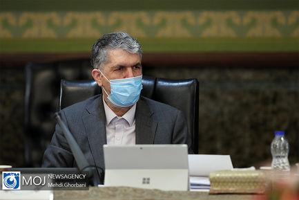 جلسه هیات دولت - ۲۷ فروردین ۱۳۹۹/ عباس صالحی