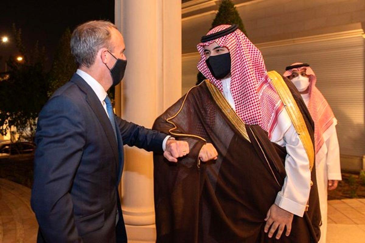 مذاکره وزیر خارجه انگلیس با یک مقام عربستانی درخصوص ایران
