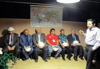 بازدید نمایندگان سازمان ملل از ستاد مدیریت بحران منطقه 6