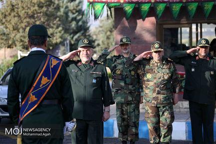 بازدید دستیار ارشد مقام معظم رهبری از پادگان شهدای جوادنیا