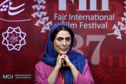 سومین روز  سی و هفتمین جشنواره جهانی فیلم فجر/ بهناز جعفری