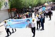 حضور پرشور تلاشگران ذوب آهن در راهپیمایی دشمن شکن روز قدس