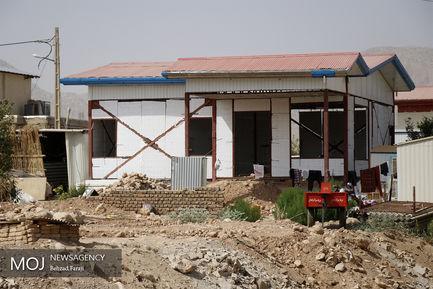 بهره برداری از پنج هزارمین واحد مسکونی روستایی در شهرستان قصرشیرین