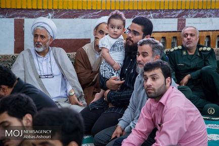 مراسم پاسداشت شهدای مدافع حرم در گیلان