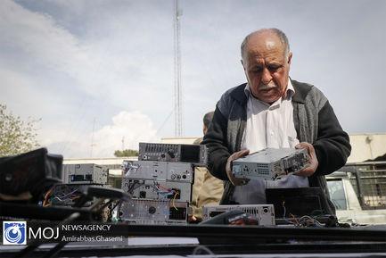 دستگیری سارقین و کشف اموال در نقاط مختلف تهران