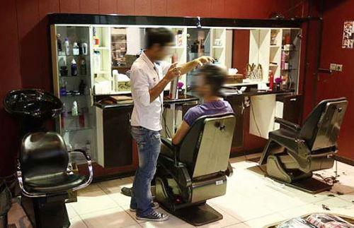 پلمپ آرایشگاه های مردانه بدون مجوز