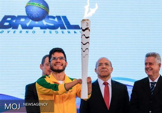 پنجشنبه؛ آغاز برزیلگردی مشعل پارالمپیک ۲۰۱۶ ریو