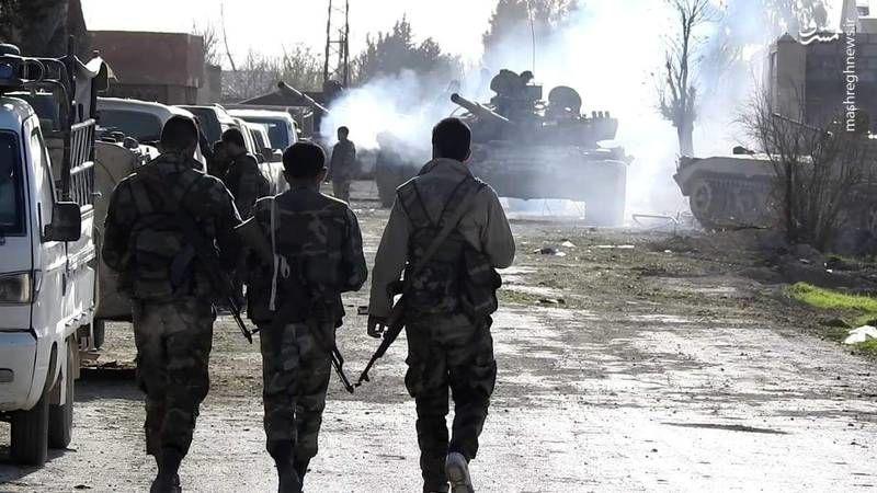 خبر خروج عناصر گروه تروریستی «فیلق الشام» از شمال سوریه تکذیب شد