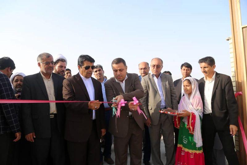 هشت پروژه عمرانی در شهرستان جاسک افتتاح شد