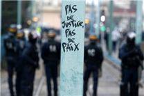 برگزاری تظاهرات در اعتراض به خشونتهای پلیسی در روئن فرانسه/3 نفر دستگیر شدند