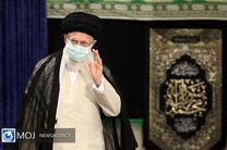عزاداری شهادت حضرت امام رضا (ع) با حضور مقام معظم رهبری