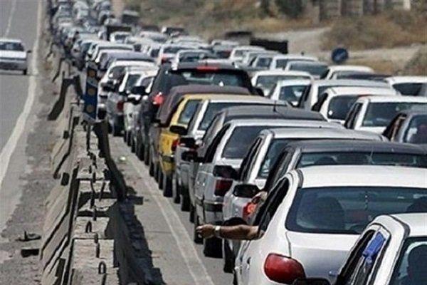 ترافیک ۲۵ کیلومتری در محدوده شهرستان رودبار