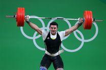 وزنهبردار ایران ششم شد