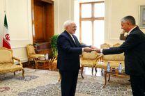 سفیر جدید صربستان با ظریف دیدار کرد