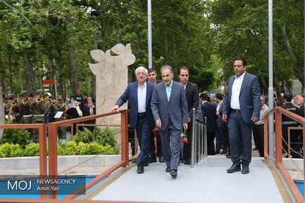افتتاح پروژه های عمرانی و فرهنگی منطقه ۸ شهرداری تهران