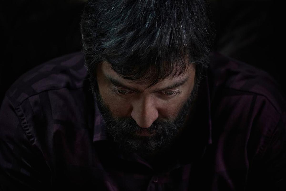 رونمایی از گریم متفاوت بهرام رادان در فیلم سینمایی ابلق