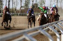 هفته دهم مسابقات اسبدوانی کورس پاییزه کشور در گنبدکاووس برگزار شد