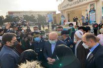 مراسم تشییع پیکر خلبان شهید بیرجند بیک محمدی برگزار شد