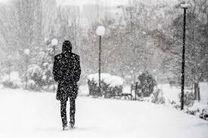 تداوم بارش باران و برف همراه با وزش باد در اردبیل