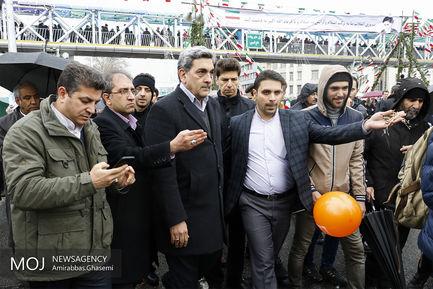 جشن چهلمین سال انقلاب در تهران (۱)/پیروز حناچی شهردار تهران