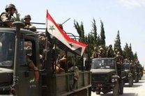 پیشروی ارتش سوریه در غرب تدمر
