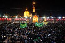 تجمع عزاداران رضوی در لنجان برگزار شد
