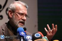 بازدید لاریجانی از ستاد انتخاباتی وزارت کشور